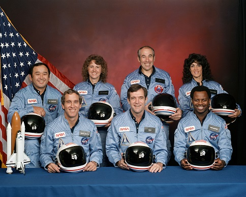 Challenger flight 51 l crew
